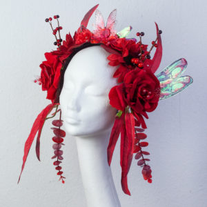 Fairy-Headpiece-weinrot